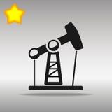 Oljeplattformpump Vektor Illustrationer