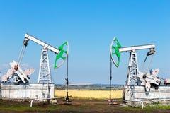 Oljeproduktion Royaltyfria Foton