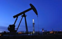 Oljepump Arkivfoton