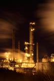 Oljeraffinaderi Fotografering för Bildbyråer
