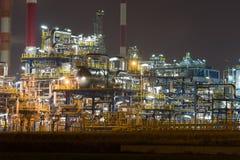 Oljeraffinaderi Royaltyfri Bild