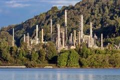 Oljeraffinaderi för Vancouver ` s Royaltyfria Foton