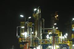 oljerafinery Royaltyfria Foton