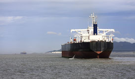 oljetankfartyg Royaltyfria Foton