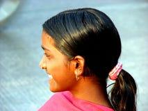 oljt hår Fotografering för Bildbyråer
