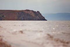 Olkhon ö, Lake Baikal Fotografering för Bildbyråer