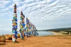 olkhon Россия озера острова baikal Стоковое Фото