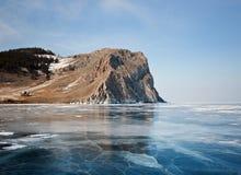 Olkhon -贝加尔湖的心脏 免版税库存图片