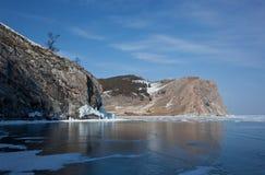 Olkhon -贝加尔湖的心脏 库存图片