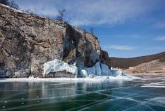 Olkhon -贝加尔湖的心脏 免版税图库摄影