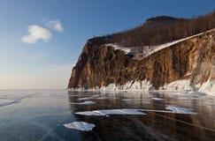 Olkhon -贝加尔湖的心脏 免版税库存照片
