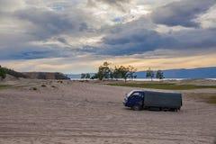 Olkhon-Insel, der Baikalsee Stockbild