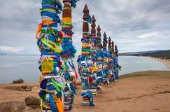 Olkhon-Insel, der Baikalsee Stockbilder