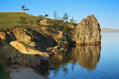 Olkhon island on Baikal Lake Stock Photo