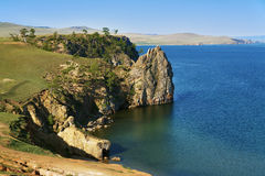 Olkhon island on Baikal Lake Royalty Free Stock Images