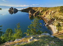 Olkhon Island at Baikal Lake stock photography