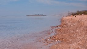 Olkhon island beach Stock Photo