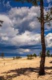 Olkhon Island, Lake Baikal Stock Photo