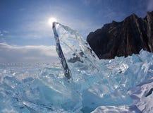 Olkhon - serce Jeziorny Baikal Zdjęcie Stock