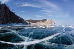Olkhon - serce Jeziorny Baikal Obrazy Stock