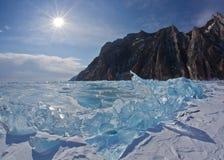 Olkhon - serce Jeziorny Baikal Obraz Royalty Free
