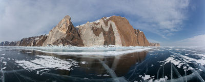 Olkhon - serce Jeziorny Baikal Obraz Stock