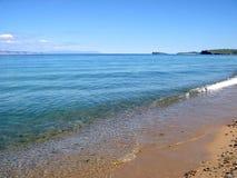 Olkhon wyspa na jeziornym Baikal Wielki słodkowodny jezioro w świacie obraz stock
