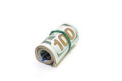 Oll av dollarräkningar Royaltyfria Foton