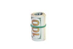 Oll de contas de dólares Imagem de Stock