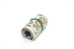Oll of dollars bills Royalty Free Stock Photos