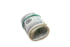 Oll of dollars bills Stock Photography
