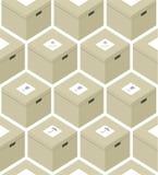 Ollage do ¡ de Ð das caixas Fotos de Stock