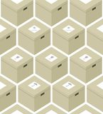 Ollage do ¡ de Ð das caixas Imagem de Stock Royalty Free