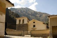 Ollantayambo, Old Town Royalty Free Stock Image