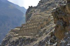 ollantaytambo Перу Стоковое Изображение