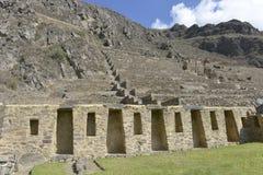 ollantaytambo Перу Стоковая Фотография RF