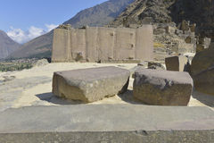 ollantaytambo Перу Стоковое фото RF