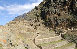 Ollantaytambo Stock Photo