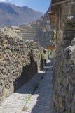 Ollantaytambo Fotografía de archivo libre de regalías