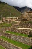 Ollantaytambo Inca fortress Royalty Free Stock Image