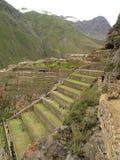 Ollantaytambo, The Inca Fortress, Peru Stock Image