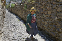 Ollantaytambo, Pérou image libre de droits