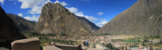 ollantaytambo Peru zdjęcie stock