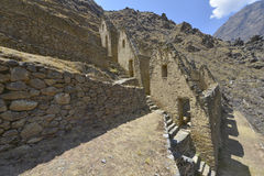 ollantaytambo Peru Obraz Stock