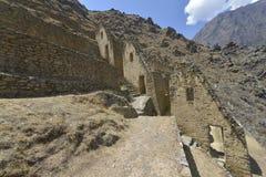 ollantaytambo Peru Obrazy Royalty Free