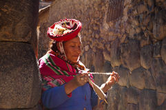 Ollantaytambo, Peru Royalty-vrije Stock Foto