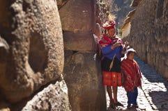 Ollantaytambo, Peru Royalty-vrije Stock Fotografie