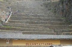 Ollantaytambo Peru - zdjęcia stock