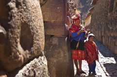 Ollantaytambo, Peru Royalty Free Stock Photography