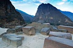 Ollantaytambo Peru Stock Photo